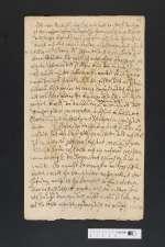 V S 447g — Christian II. <Anhalt-Bernburg, Fürst>: Brief an Fürst Ludwig von Anhalt-Köthen — 17. Jh.