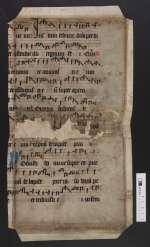 Pgt. Frgm. 4 — Antiphonale officii — Nord- oder Mitteldeutschland, 15. Jh.