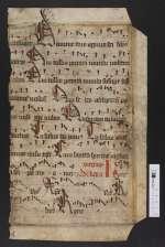 Pgt. Frgm. 5 — Graduale — Nord- oder Mitteldeutschland, 15. Jh.