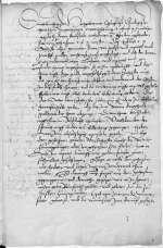 Reg. O 359, fol. 1r-v — Beilage: Kapitel des Allerheiligenstifts an Kurfürst Friedrich — Wittenberg — zwischen 13. November 1515 und 16. Januar 1516