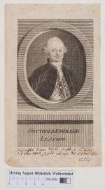Lessingiana 36 — Portrait von Gotthold Ephraim Lessing —