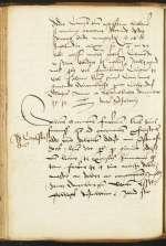 Cod. 306, fol. 107v–109r — Christoph Scheurl an Andreas Karlstadt — Nürnberg, 1512, 10. Mai