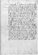 Reg. N 624, fol. 1r-v — Andreas Karlstadt an Kurfürst Friedrich III. von Sachsen — [Wittenberg oder Torgau] — [1516, vor 5. Juni]